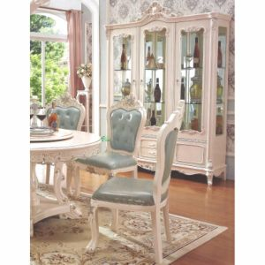 Round Dining Table with Sofa Chair for Dining Room Furniture pictures & photos