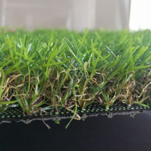Manufacturer Four Colours Synthetic Grass Turf, Landcaping Artificial Grass for Garden pictures & photos