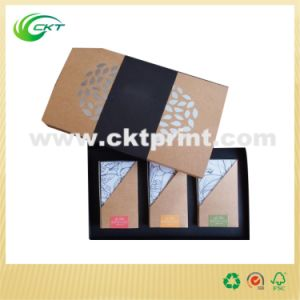 Colorful Soap and Candle Packaging Box with Kraft Paper (CKT -CB-268)