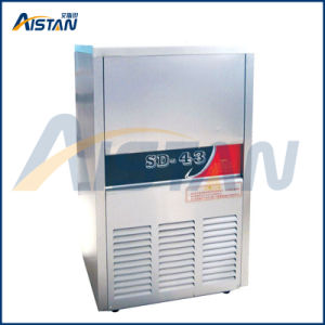 R134A Refrigerant Zanussi Compressor Stainless Steel Commerical Ice Maker Machine pictures & photos