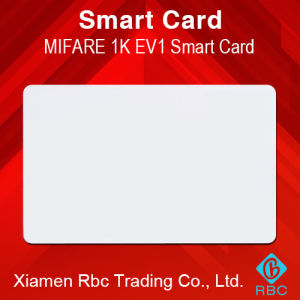 Blank RFID NXP MIFARE Classic EV1 1k Smart Card pictures & photos