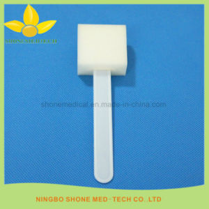 Dental Medical Sponge Brush Oral Swab pictures & photos
