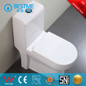 Floor Standing Siphonic One Piece Toilet (BC-1025A) pictures & photos