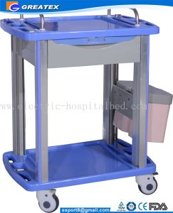 Factory Direct Hospital/Barbershop Equipment ABS Material Medical Use Trolley pictures & photos
