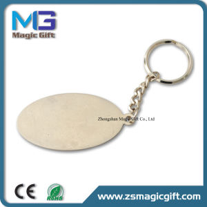 Cheap Promotional Printing Metal Key Chain pictures & photos