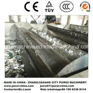 500kg/H Waste Plastic PE PP Film Washing and Recycling Machine pictures & photos