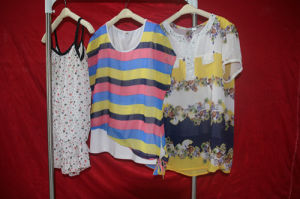 Silk Blouse Used Dress in Bales, Cheap Used Clothes pictures & photos