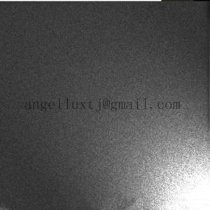 Hotel Decoration Black Bead Blasted Stainless Steel Sheet Supplier pictures & photos