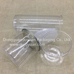 Plastic Pet Can Food Container with Easy Open End pictures & photos