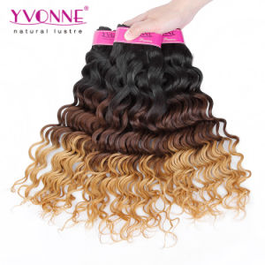 Wholesale Ombre Color Peruvian Remy Human Hair pictures & photos