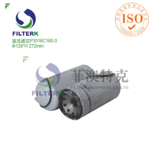 High Pressure Fusheng Air Compressor Filter Fusheng Oil Filter P3516c160-3 Fusheng Oil Filter pictures & photos