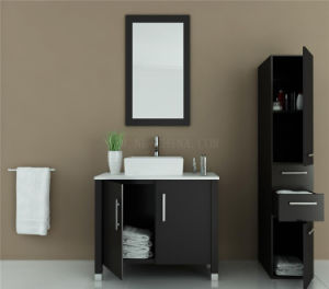 European Solid Wood Bathroom Cabinet pictures & photos