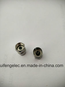 F Male to PAL Female Plug RF Cable Connectors pictures & photos