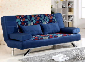 Fashion Fabric Steel Legs Sofa Furniture (HX-SL031) pictures & photos