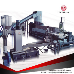Two Stage Cutter Compactor Plastic Recycling Machine pictures & photos