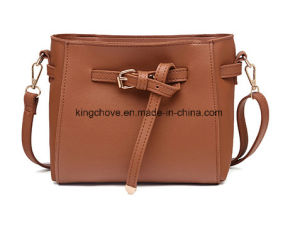 Cheap PU Ladies Handbag for Promotion (KCHA034) pictures & photos