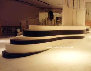 High Quality Corian Solid Surface Hotel Lobby Planter Bench pictures & photos