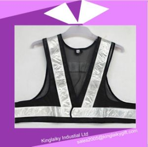 Safety Vest with Logo Branding Ksv017-001 pictures & photos