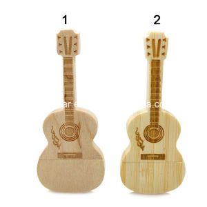 USB Stick Wood USB Pendrive Guitar USB Flash Drive pictures & photos