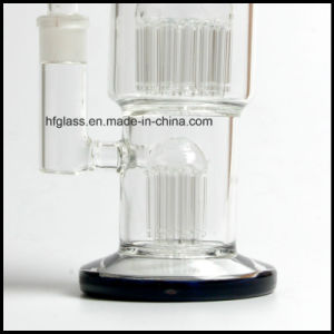 New Arrivals 11 Inches 20 Arms Toro Glass Water Pipes Pyrex for Smoking with 2 Percs pictures & photos