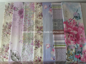 100%Cotton 128*60 Printed Fabric for Comforter Set pictures & photos