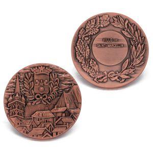 Wholesale Antique Silver Award Souvenir Coin pictures & photos