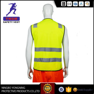 New High Visibility Reflective Safety Police Belt Vest En20471 pictures & photos