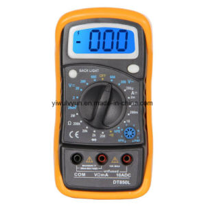 Dt850L Small Multimeter with Backlight pictures & photos