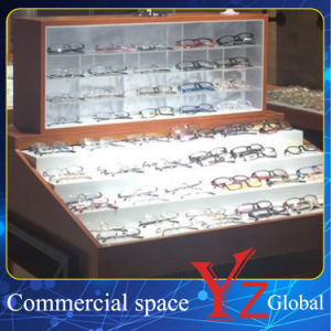 Glasses Display Cabinet (YZ160402) Glasses Showcase Glasses Exhibition Wood Cabinet pictures & photos