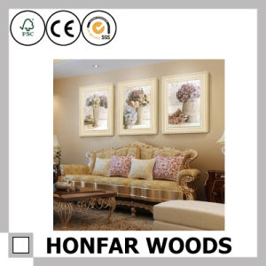 Black Wood Painting Poster Frame for Hotel Decoration pictures & photos