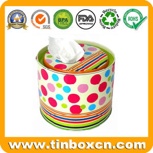 Food Packaging Round Tin Boxes, Metal Gift Tin Cans pictures & photos