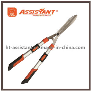 Hand Pruners Telescopic Aluminum Handles Drop Forged Wavy Hedge Shears pictures & photos