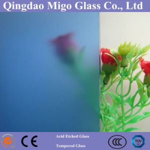 Clear/Colored Decorative Acid Etched Glass / Art Frosted Glass pictures & photos