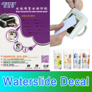 Water Slide Transfer Decals for Ceramic Glass Mug Nail Stickers pictures & photos