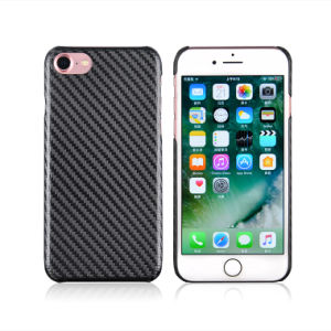 2017 China Newest Design Shenzhen Luxury Carbon Fiber Texture Mobile Phone Case for iPhone 7 Case pictures & photos