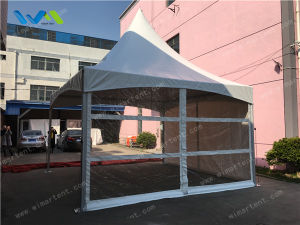 6X6m Cross Wire Aluminum Pagoda for Garden Party pictures & photos