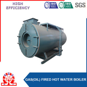 Horizontal Wet Back 3 Pass Oil Gas Fired Steam Boiler pictures & photos