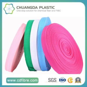 100% Fashion Colorful Polypropylene (PP) Webbing in China pictures & photos