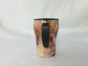 12oz Wood Grain Tumbler Coffee Mug Travel Mug Cup pictures & photos
