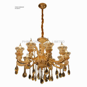Phine Chandelier Zinc Alloy Pendant Lamp with K9 Crystal Decorative pictures & photos
