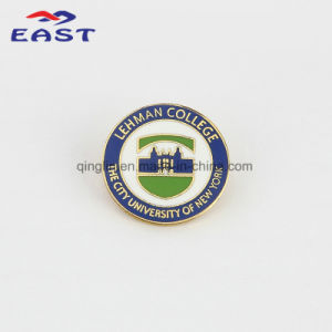 Customized Enamel College Lapel Pin for Students and Staff pictures & photos
