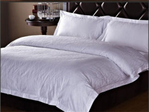 Dyed Solid Hotel Bedding Sheet (08)