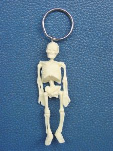 Mini -Human Skeleton Model Keyring pictures & photos