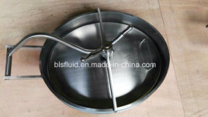 Food Grade Stainless Steel Manhole Cover pictures & photos