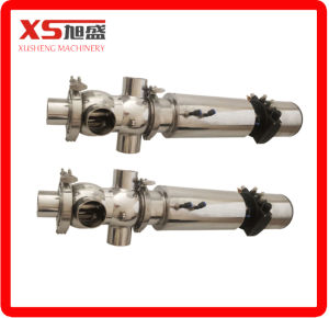 2inch Stainless Steel Ss304 Hygienic Sanitary Pneumatic Flow Divert Seat Valves pictures & photos