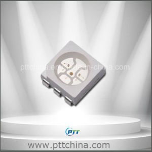 Green 5050 SMD LED, 3000mcd, High Luminous 5050 Green pictures & photos