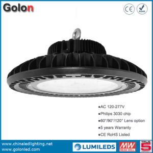 Super Bright Sensor Dimmable High Bay Lamp 130lm/W 200W 100W 150W LED Warehouse Light pictures & photos