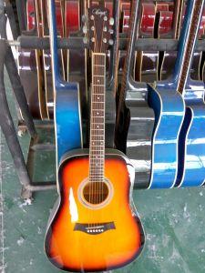 Aiersi Factory Promotional Colorful Acoustic Guitar Sg029 pictures & photos