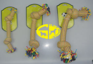 Pet Dog Rope Toy with Two Knots pictures & photos
