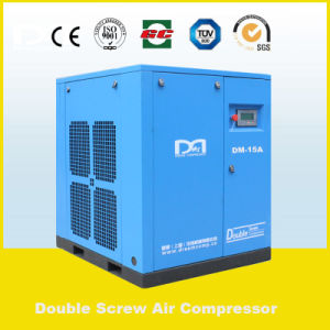 22kw 3.70m3/Min 7bar Factory Price Stationary Belt Driven Rotary Screw Air Compressor Made in China for School/Lab/Factory/Food/Hospital Ect pictures & photos